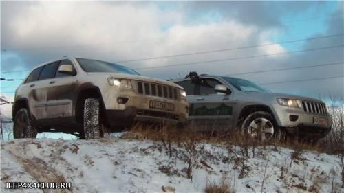 Тест драйв Grand Cherokee 2011, Jeep4x4club.ru