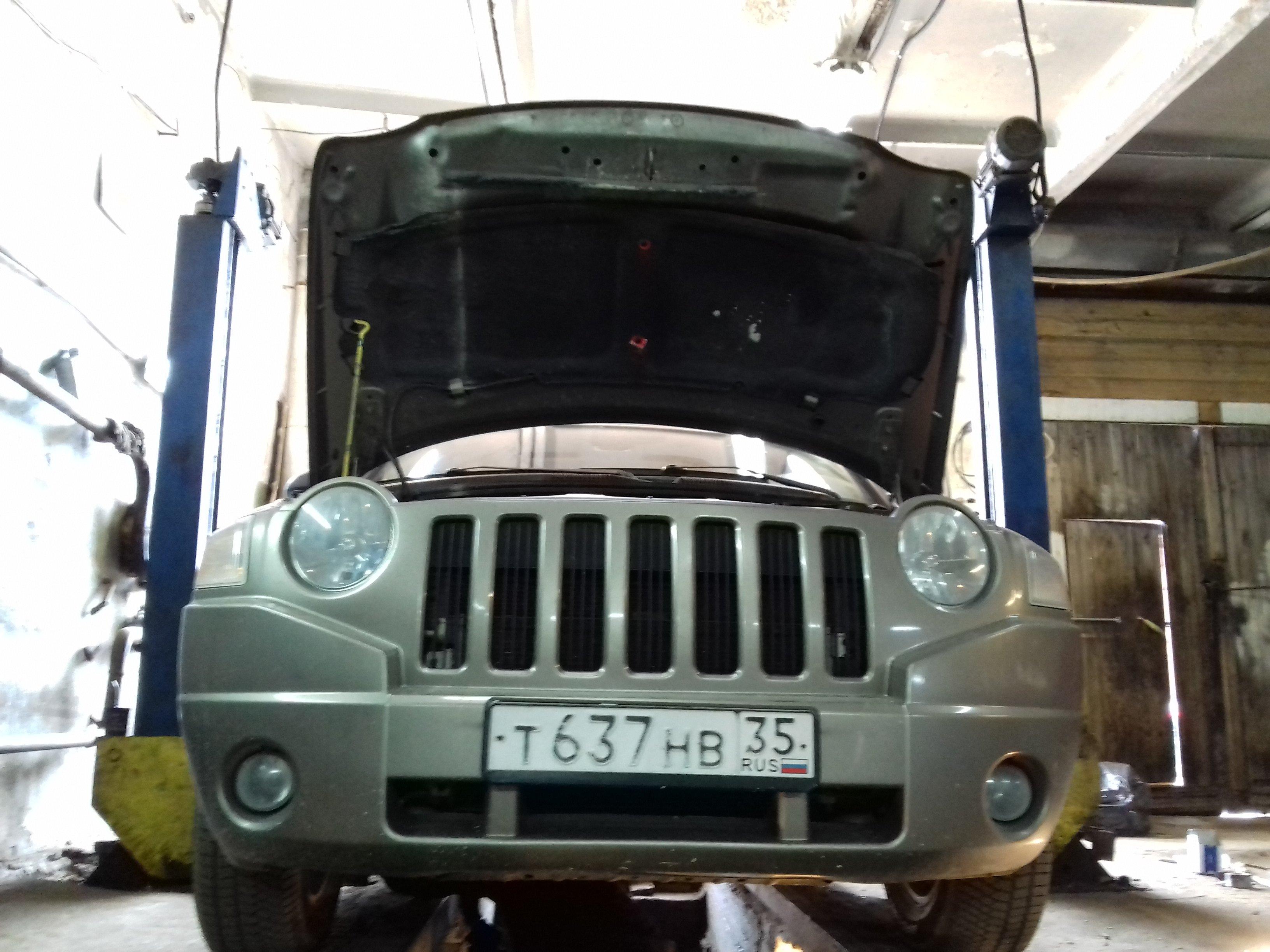 Ремонт передней подвески и немного обслуживания